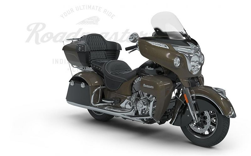 Мотоцикл Indian Roadmaster, Polished Bronze over Thunder Black with Silver Pinstripe